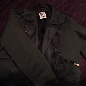 Green and black jacket... never worn